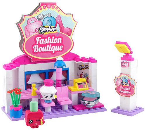 Shopkins Kinstructions Building Set Fashion Boutique