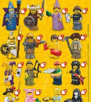 Lego Mini Figures Series 12