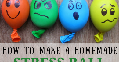 How to make a homemade stress ball